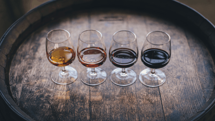 Different Wine In Glasses 900x506