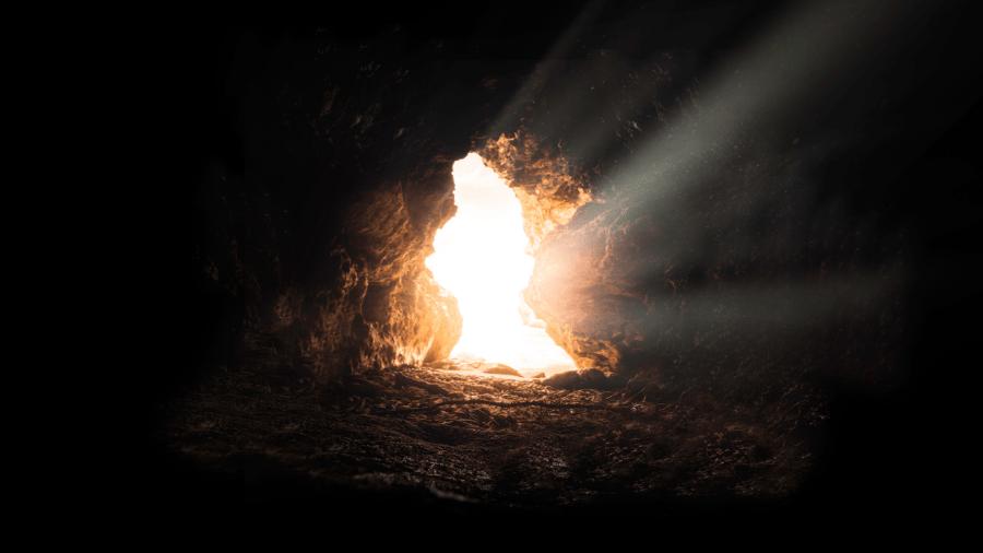 Light Shining Into Cave 900x506