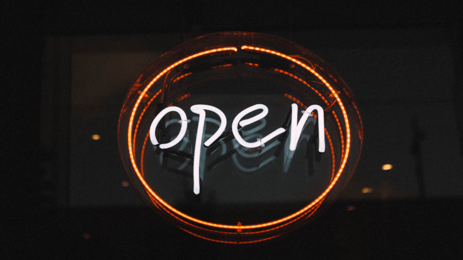 Open Sign 900x506
