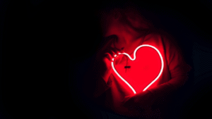 Heart Glowing In Front Of Person 356x200