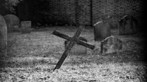 Wooden Cross Grave 356x200