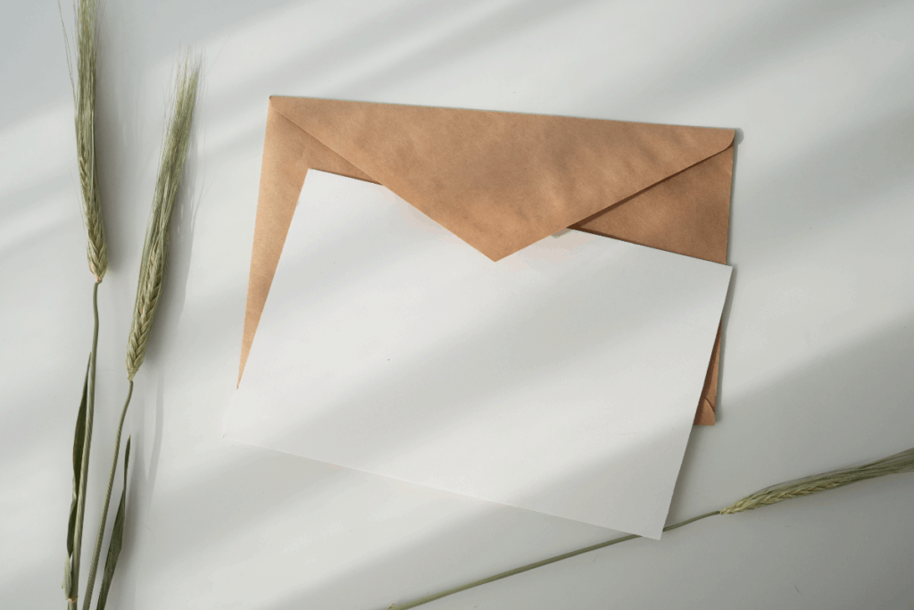 Letter With Envelope 1200x800