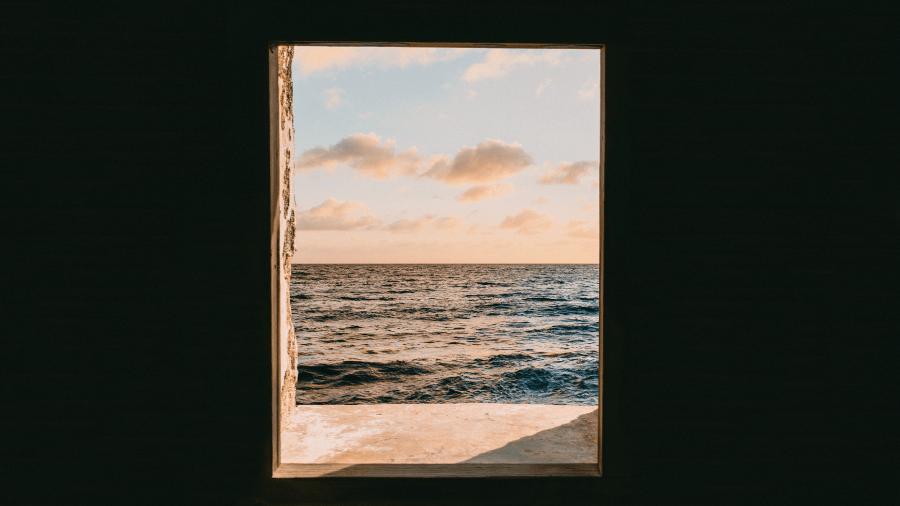 Door Looking To Water And Wind 900x506